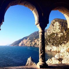 #PortoVenere is always worth a visit! Even only to admire the view from S. Peter Church