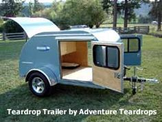 small teardrop trailers small rv teardrop trailer by adventure teardrops - Tiny Camping Trailers