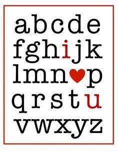 i {heart} u