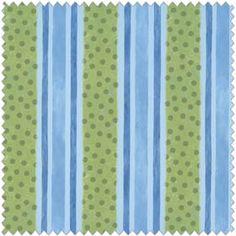 Dino Roars Stripe Flannel Fabric 11307