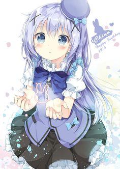 [Kawaii]The Birthday Girl! [Gochuumon wa Usagi Desu ka?]