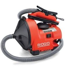 Drain Cleaning Machine Equipment Parts Toilet Pipe Cleaner Bathtub Electric  #Ridgid