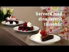 Best and easy made swedish sticky cake Fika, How Sweet Eats, Cake Cookies, Cake Recipes, Fudge, Pudding, Tart, Treats, Chocolate