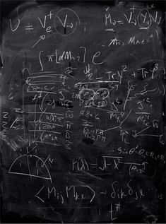 Photographer Alejandro Guijarros series Momentum is a collection of images that show the post-lecture blackboards at leading quantum mechanics research institutions. Physics Jokes, Physics Lab, Quantum Physics, Physics Experiments, Physics Poster, Physics Revision, Physics Projects, Physical Science, Physical Activities