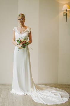Vestido de novia lencero Bride dress Robe du mariée