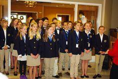 6th grade Chorus sings at Terrace Ridge Retirement Home