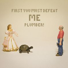 Le Mario du Jour – First You Must Defeat Me Plumber !