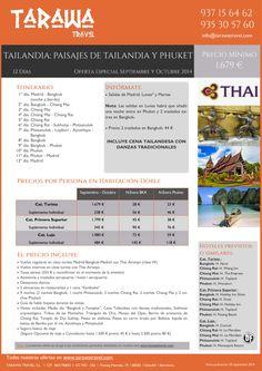 Paisajes de Tailandia y Phuket.Oferta Especial Septiembre/Octubre.12días viaje dsde1679euros persona ultimo minuto - http://zocotours.com/paisajes-de-tailandia-y-phuket-oferta-especial-septiembreoctubre-12dias-viaje-dsde1679euros-persona-ultimo-minuto/