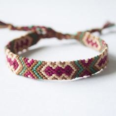 Shop Friendship Bracelet Patterns on Wanelo