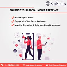 Sanbrains is recognized as the leading social media marketing company in Hyderabad. We are offering SMM services at affordable prices. Among award-winning social media marketing companies in Hyderabad, we specialize in both paid and organic social media management by providing a full suite of social media marketing services in Hyderabad. #socialmediaagencyinhyderabad #smmagencyinhyderabad Top Social Media, Social Media Channels, Social Media Content, Social Media Marketing Companies, Best Digital Marketing Company, Build Your Brand, Target Audience, Hyderabad, Best Brand