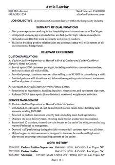 resumes sample cv professional profile customer service cover