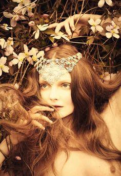 Eniko Mihalik by Ellen von Unwerth for Vogue Italia, July 2012