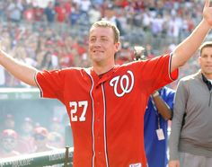 The first of the big free agent dominoes has fallen, and it's Jordan Zimmermann, who is soon to be an ex-National. Basketball Court Size, Nationals Baseball, Washington Nationals, Free Agent, Sports News, Jordans, Zimmerman, Athletes, Hotels