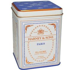 Harney and Sons Tea -  Paris (My sweet friend bought this for my tea room) @VintageFrenchChic