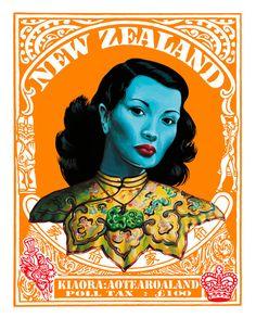 Incredible Tretchikoff: The Kiwi Blue Lady