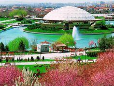 Parque de atracciones Altin, Ankara, Turquía.