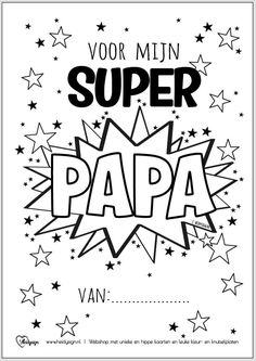 Craft Projects For Kids, Diy For Kids, Mamas And Papas, Mother And Father, Little Gifts, Kids Playing, Fathers Day Gifts, Baby Kids, Super Papa