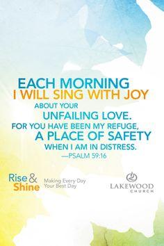Psalms 59:16 - My refuge