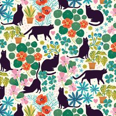 Dream Moods, Cat Pattern, Modern Fabric, Fabric Samples, Gift Bags, Sewing Patterns, Bee, Kids Rugs, Quilts