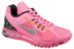 Nike Air Max 2013 Popping Pink For Cute Womens Running shoes