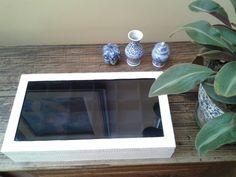Caixa decorada Inspirar Ateliê! #caixadecorada