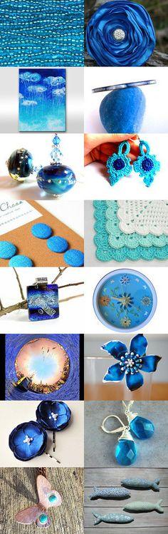 Blue Dream by Terra Silvasy on Etsy--Pinned with TreasuryPin.com