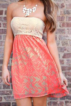 Beautiful Summer Dress! I need it to be a little bit longer. $24.99 rayban sunglasses http://www.okglassesvips.com