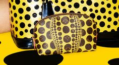 Louis Vuitton Yayoi Kusama cosmetic pouch is adorable!