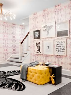 Fawn Galli Interior Design, Holiday House Hamptons - contemporary - bedroom - new york - by Rikki Snyder