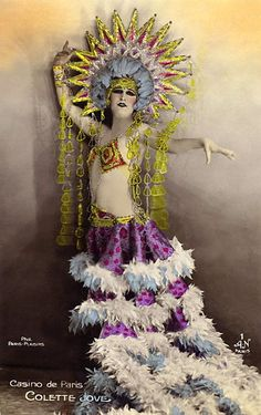 vintage everyday: Dancers of the Casino de Paris, c.1915