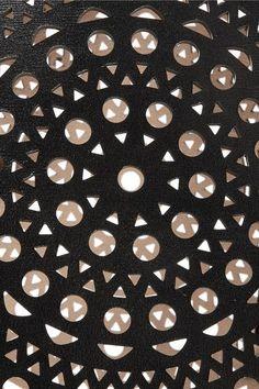 Alaïa - Vienne Laser-cut Leather Tote - Black - one size