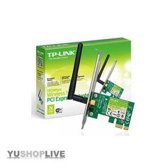 TP-Link TL-WN781ND 150Mbps Wireless Lite Netzwerk PCI-e Adapter - NEU