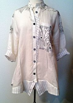 Diane Ericson Designs: Making a Re-Fashioned Spring Shirt