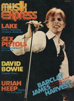 Bowie - Magazine Cover 1978
