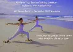 Akhanda Yoga 200 Hour Yoga Teacher Training at Byron Bay