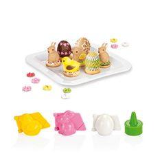 Wielkanoc, dekoracje, foremki, ciastka, wypieki wielkanocne