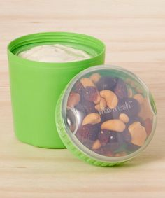 Take a look at this Chilled Yogurt & Snack Container today!