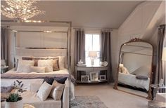 South Shore Decorating Blog: Master Bedroom Full Reveal #manchesterwarehouse