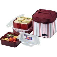 Lock & Lock 7 Piece Lunch Box Set