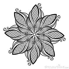 Geometric flower coloring pages design for lotus mandala books adults page kids to print . mandala for adults lotus Mandala Art, Mandalas Painting, Mandalas Drawing, Mandala Coloring Pages, Mandala Tattoo Design, Coloring Book Pages, Flower Mandala, Geometric Flower, Lotus Flower