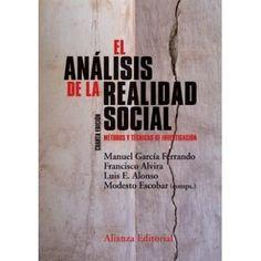 El Análisis de la realidad social : métodos y técnicas de investigación