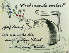 lustiges Bild 'Wochenende vorbei.jpg' von WienerWalzer. Eine von 1014 Dateien in der Kategorie 'guten-Morgen-Bilder' auf FUNPOT.