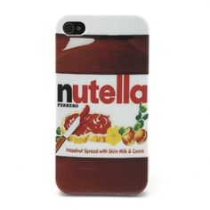 Coque iPhone 4 / 4S Nutella
