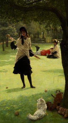 Croquet by James Tissot