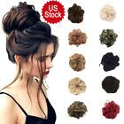 Curly Messy Bun Combs Chignon Scrunchie Updo Cover Hair Extensions as human Clip In Hair Pieces, Bun Hair Piece, Ponytail Hairstyles, Bride Hairstyles, Hair Ponytail, Ponytail Hair Extensions, Curly Extensions, Ponytail Scrunchie, Messy Bun Updo