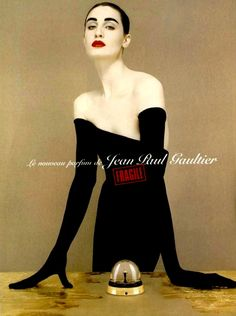 Fragile by Jean Paul Gaultier, Fall 1999Model: Erin O'Connor