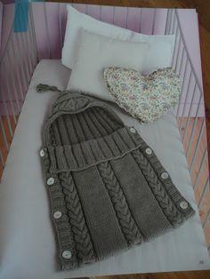 knit or crochet pajama bag pattern - C K Crafts