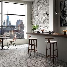 Polis - Azulejos Background Tile, Encaustic Tile, Desiderata, Tiles, Flooring, Interior, Furniture, Color Mix, Public Spaces