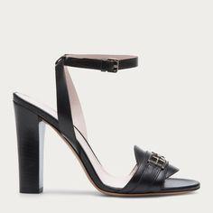 CARISA - BLACK CALF Sandals