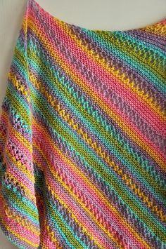 Ravelry: F789 Ridged Shawl pattern by Vanessa Ewing